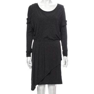 Robert Rodriguez long sleeve grey dress medium